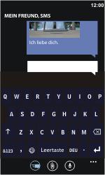 Nokia Lumia 800 - MMS - Erstellen und senden - Schritt 14