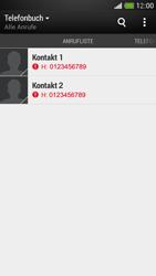 HTC One Mini - Anrufe - Anrufe blockieren - Schritt 4