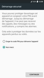 HTC 10 - Sécuriser votre mobile - Activer le code de verrouillage - Étape 7