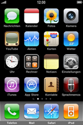 Apple iPhone 3G - Ausland - Im Ausland surfen – Datenroaming - 2 / 9
