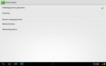 Samsung P5100 Galaxy Tab 2 10-1 - Internet - buitenland - Stap 7