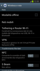 Samsung Galaxy S III LTE - Internet e roaming dati - Disattivazione del roaming dati - Fase 5