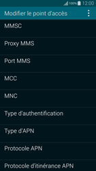 Samsung G850F Galaxy Alpha - MMS - Configuration manuelle - Étape 10