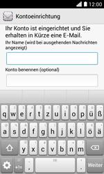 Huawei Ascend Y330 - E-Mail - Konto einrichten - Schritt 20