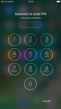 Apple iPhone 7 Plus - Premiers pas - Configurer l