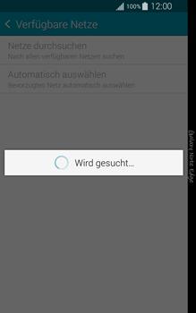 Samsung Galaxy Note Edge - Netzwerk - Manuelle Netzwerkwahl - Schritt 7