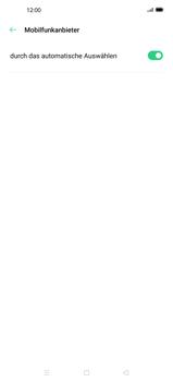 Oppo Find X2 Pro - Netzwerk - Manuelle Netzwerkwahl - Schritt 7