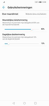 Huawei P Smart Plus - internet - mobiele data managen - stap 13