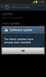 Samsung Galaxy Trend Lite - Software - Installing software updates - Step 8
