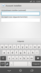 Sony Xperia E4g (E2003) - E-mail - Account instellen (POP3 zonder SMTP-verificatie) - Stap 16