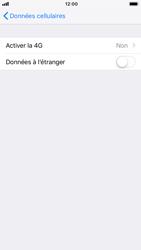 Apple iPhone 8 - iOS 12 - Réseau - Activer 4G/LTE - Étape 5
