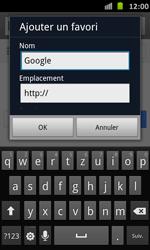 Samsung Galaxy S Advance - Internet et roaming de données - Navigation sur Internet - Étape 6