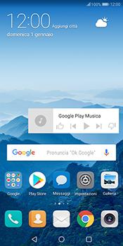 Huawei Mate 10 Pro - Operazioni iniziali - Installazione di widget e applicazioni nella schermata iniziale - Fase 9