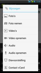HTC Desire 516 - MMS - Afbeeldingen verzenden - Stap 13