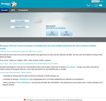 Huawei E5576 - Premiers pas - Accéder à votre interface de gestion - Étape 3