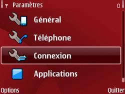 Nokia E63 - Internet - Configuration manuelle - Étape 5
