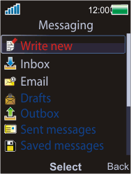 Sony W595 - E-mail - Sending emails - Step 4