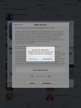 Apple iPad mini iOS 7 - Apps - Einrichten des App Stores - Schritt 11