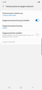 Samsung Galaxy Note 10 Plus - internet - mobiele data managen - stap 7