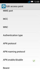 Alcatel Pop C7 - Internet and data roaming - Manual configuration - Step 15