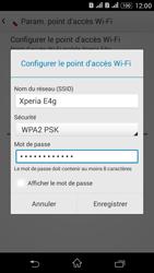 Sony Xperia E4g - Internet et connexion - Partager votre connexion en Wi-Fi - Étape 10