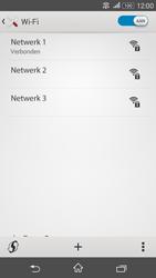 Sony Xperia E4g (E2003) - WiFi - Verbinden met een netwerk - Stap 8