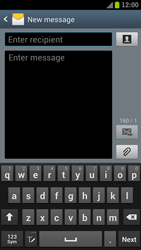 Samsung I9300 Galaxy S III - MMS - Sending pictures - Step 3