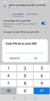Huawei Y5P - Sécuriser votre mobile - Personnaliser le code PIN de votre carte SIM - Étape 12