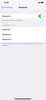 Apple iPhone XS Max - Bluetooth - headset, carkit verbinding - Stap 5