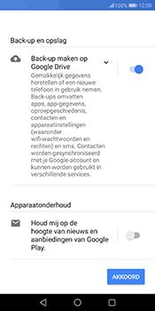 Huawei Mate 10 Pro - Applicaties - Account instellen - Stap 17