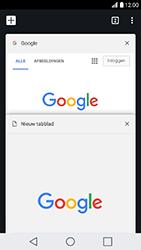 LG K10 (2017) - internet - hoe te internetten - stap 16