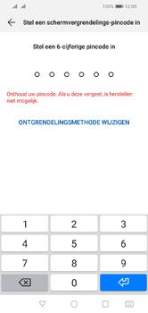 Huawei Y5 (2019) - Beveiliging - stel in of wijzig pincode voor je toestel - Stap 6