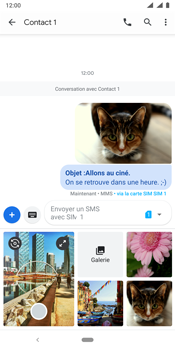 Nokia 9 - MMS - envoi d'images - Étape 20