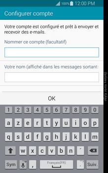 Samsung Galaxy Note Edge - E-mail - configuration manuelle - Étape 18