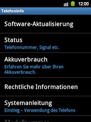 Samsung Galaxy Y - Software - Update - 1 / 1