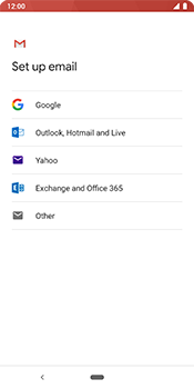 Google Pixel 3 - Email - 032c. Email wizard - Outlook - Step 7