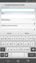 Sony Xperia Z3 Compact - E-Mail - Konto einrichten - 2 / 2