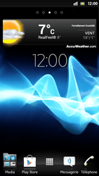 Sony Xperia S - Prise en main - Installation de widgets et d