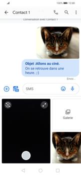 Huawei P Smart 2020 - Contact, Appels, SMS/MMS - Envoyer un MMS - Étape 20