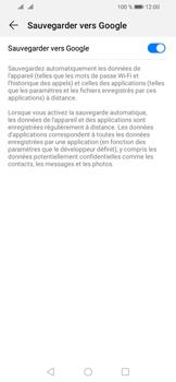 Huawei Y6 (2019) - Données - créer une sauvegarde avec votre compte - Étape 7