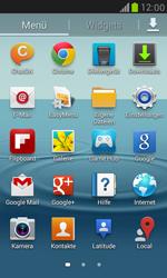 Samsung I8190 Galaxy S3 Mini - E-Mail - Konto einrichten - Schritt 3