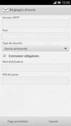 Sony LT28h Xperia ion - E-mail - Configuration manuelle - Étape 11