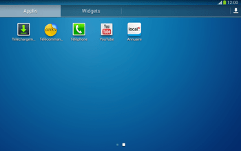 Samsung P5220 Galaxy Tab 3 10-1 LTE - Messagerie vocale - Configuration manuelle - Étape 3