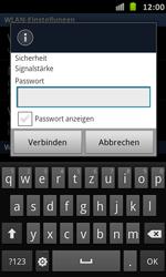 Samsung Galaxy S Advance - WiFi - WiFi-Konfiguration - Schritt 8