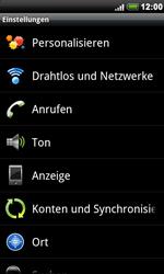 HTC A8181 Desire - Netzwerk - Netzwerkeinstellungen ändern - Schritt 4