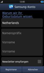 Samsung Wave - Apps - Konto anlegen und einrichten - 10 / 18