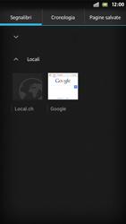 Sony Xperia S - Internet e roaming dati - Uso di Internet - Fase 10