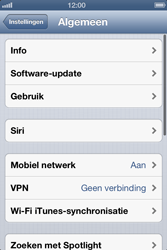 Apple iPhone 4 (iOS 6) - software - update installeren zonder pc - stap 4
