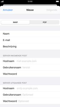 Apple iPhone 7 Plus - iOS 13 - E-mail - e-mail instellen: IMAP (aanbevolen) - Stap 10