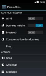 Bouygues Telecom Bs 403 - Internet et connexion - Accéder au réseau Wi-Fi - Étape 4